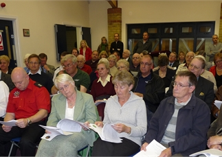 Annual Town Meeting on Monday 12 May